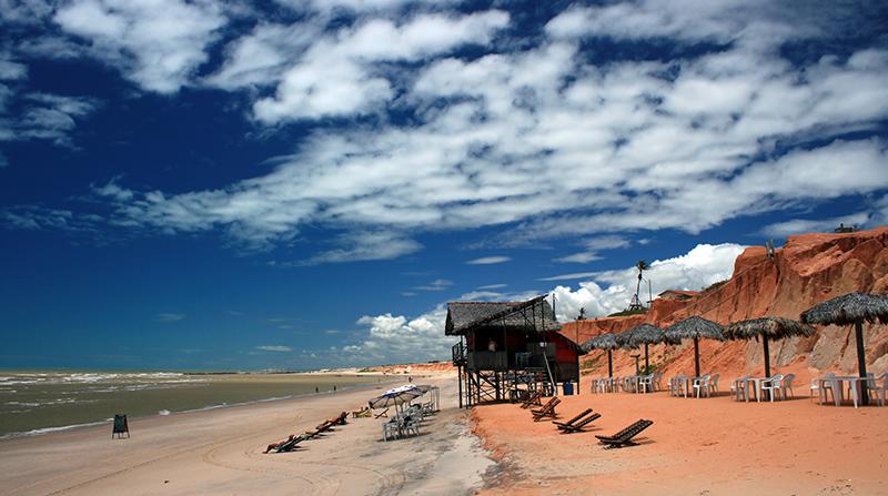Canoa Quebrada Beach, Brazil
