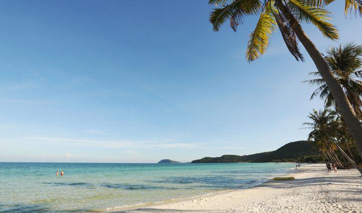 Sao Beach at Phu Quoc Island, Vietnam