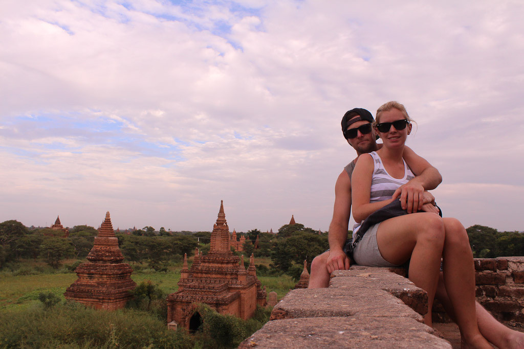 Couples at Bagan
